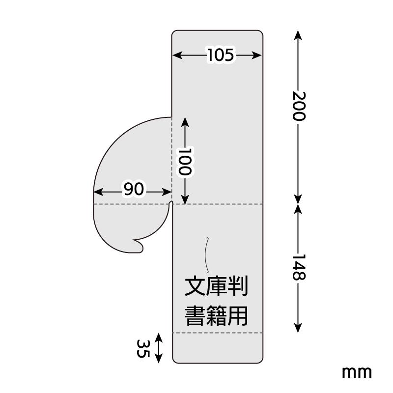 平積ディスプレイ サイズ 文庫